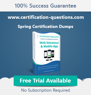spring certification books and courses