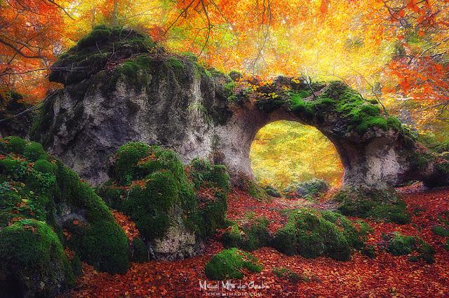 Arco de Zalamportillo en Entzia