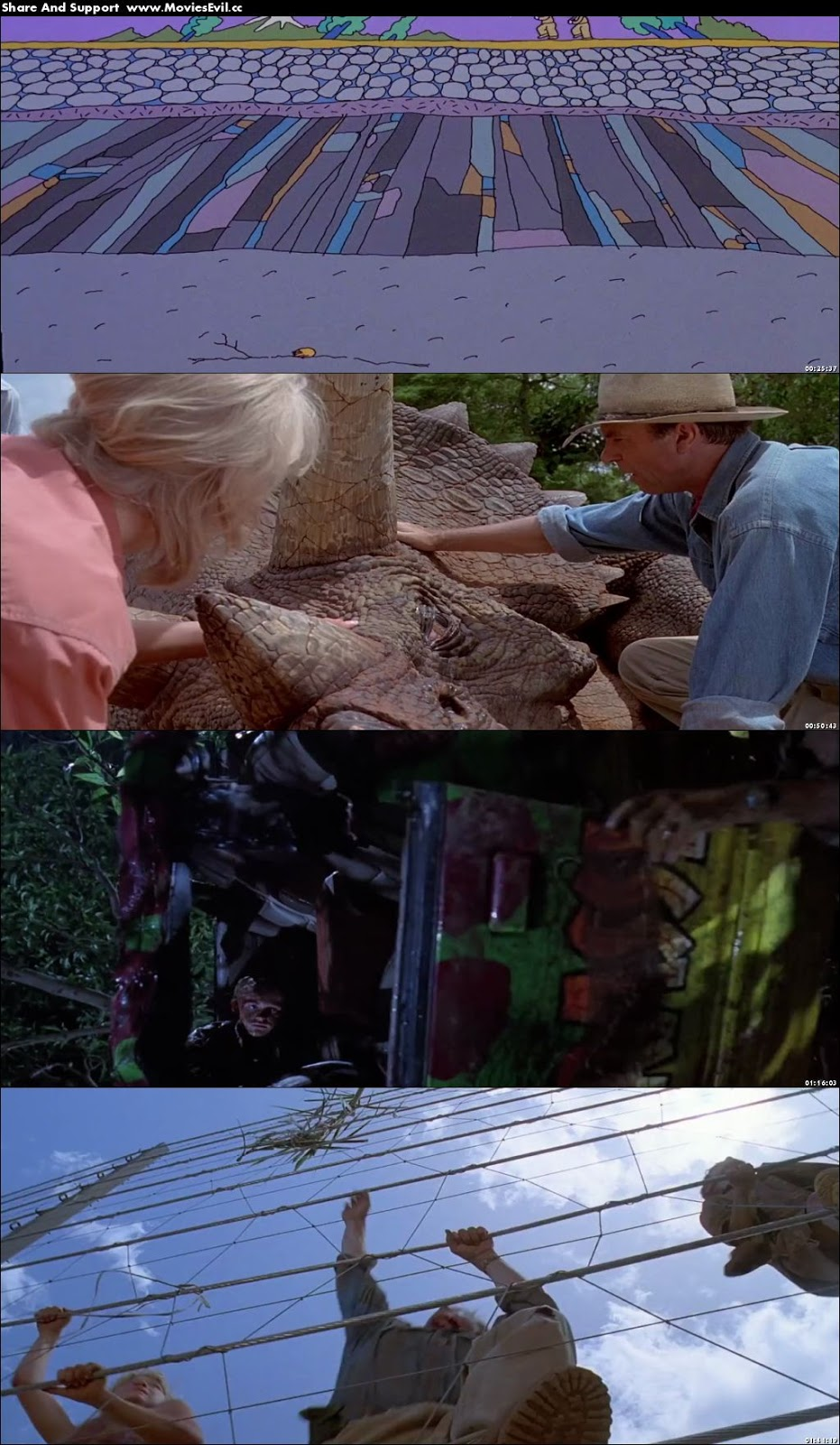 Jurassic Park 1993 Dual Audio 480p BluRay 300 MB Download