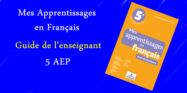 MES APPRENTISSAGES