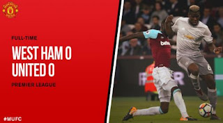 Video Cuplikan Pertandingan West Ham United vs Manchester United 0-0