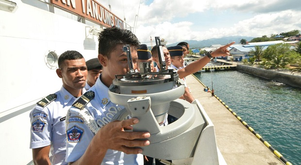 Taruna Akademi Maritim Maluku Ingin Melaut Bersama Bakamla