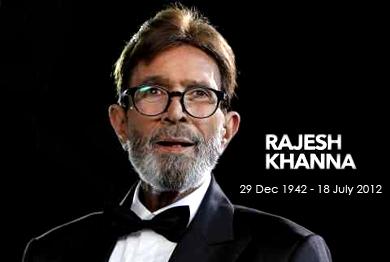 Rajesh Khanna Died