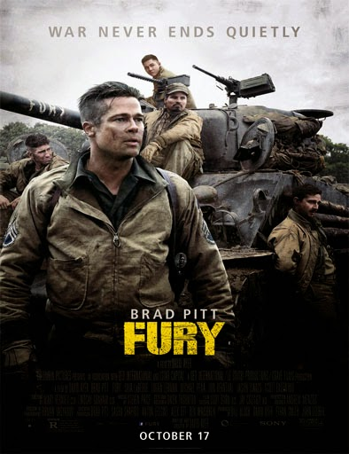 Ver Corazones de acero (Fury) (2014) Online