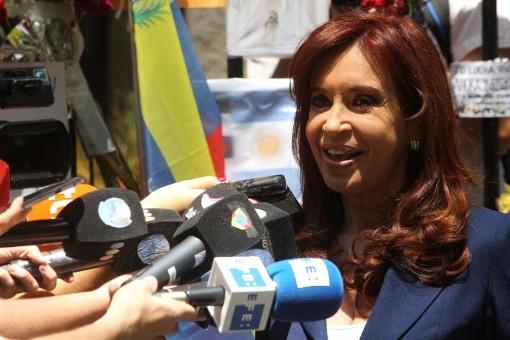 CFK reitera críticas a violación a los DD.HH. en Argentina
