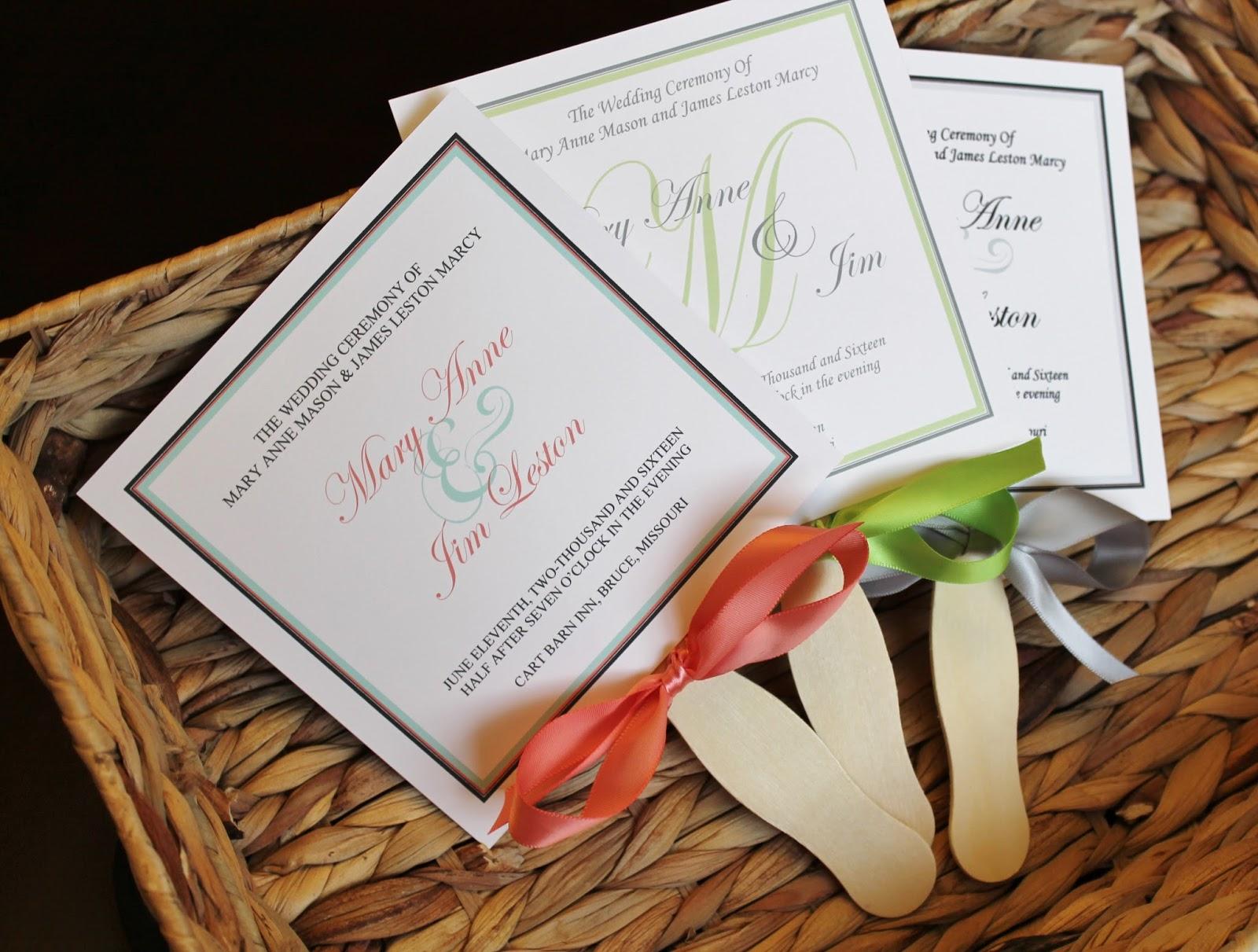 fan program for weddings - Dorit.mercatodos.co