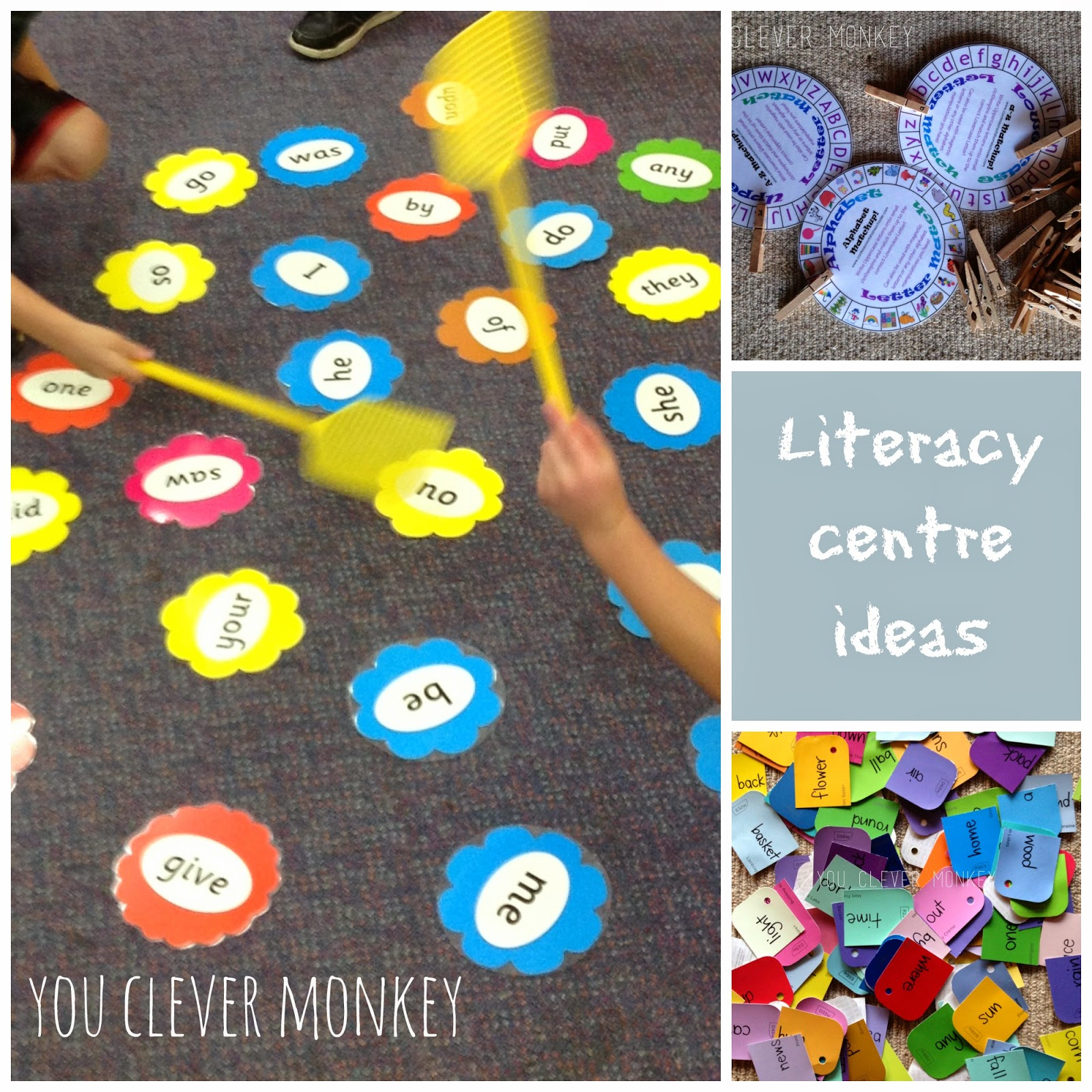 Classroom Literacy Ideas : Literacy centres ideas from my classroom you clever monkey