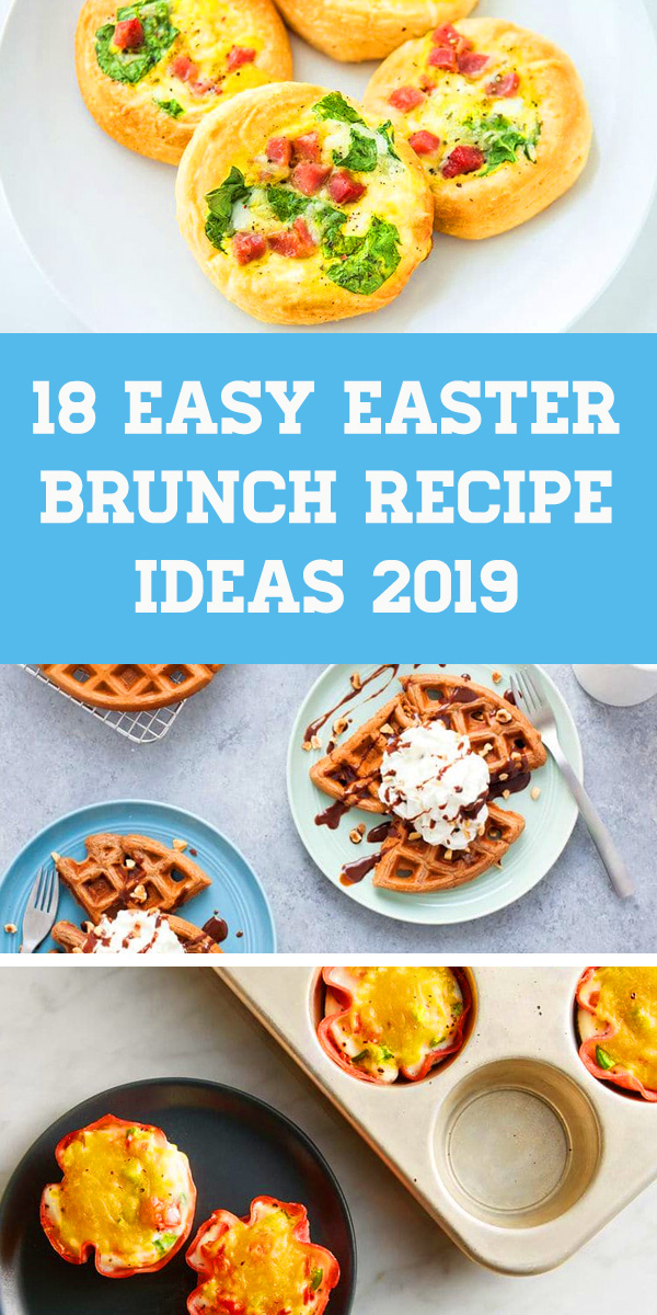 18 Easy Easter Brunch Recipes: Delicious Dishes Recipe Party- Easter Brunch ideas, Easter breakfast ideas, Easter lunch recipes. Brunch recipes, Easter dinner, Easter dessert, Easter treats, Easter party, Brunch menu ideas. #brunch #easter #breakfast #lunch #easterbrunch #easterbreakfast #brunchrecipes #easterparty #easterlunch #easybreakfast