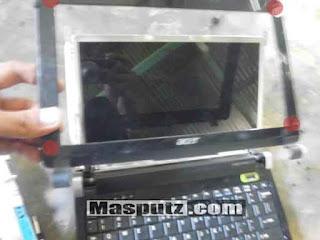 Cara Membongkar Layar LCD Notebook