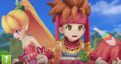 Get Primm, Find Popoi, Secret of Mana, Remake, HD, 2018
