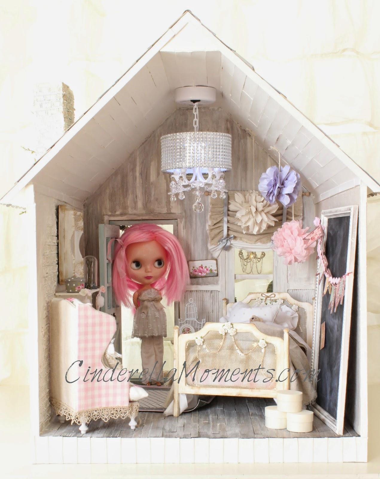 Cinderella Moments Shabby Blythe Custom Dollhouse