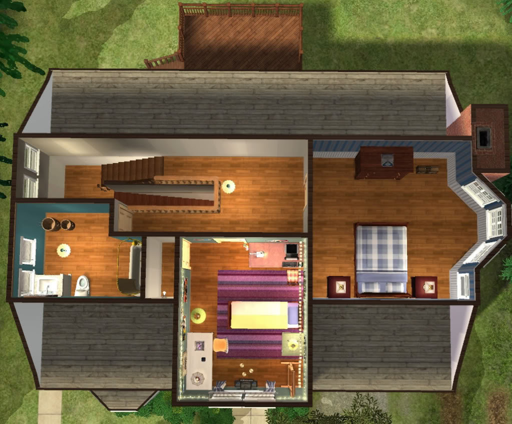 Twoflower S Sims 2 Lots Twilight Bella Swan S House Base Game