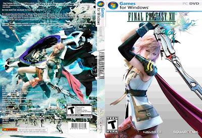 Jogo Final Fantasy XIII PC DVD Capa