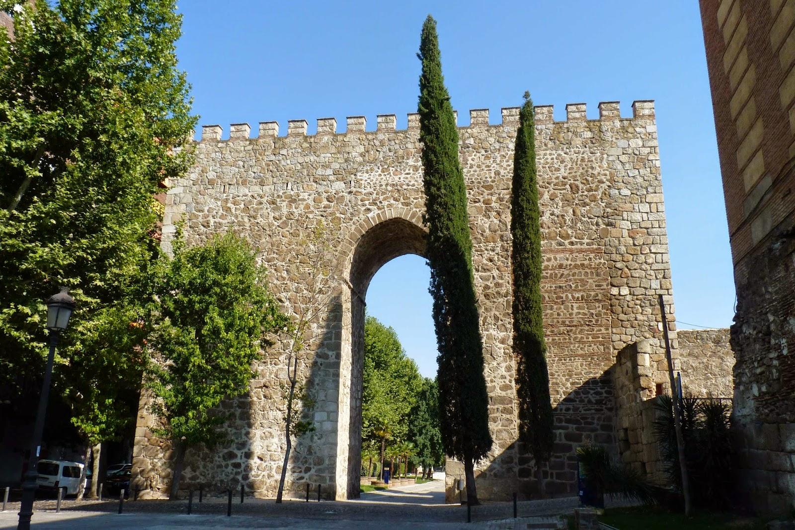 Parte de la muralla de Talavera de la Reina.