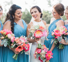 Colorful Florals At This Fun South Carolina Wedding