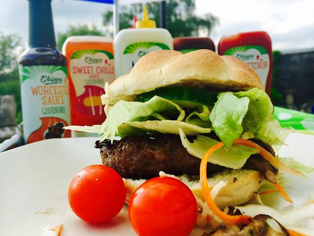 Homemade Gluten Free Beef Burgers