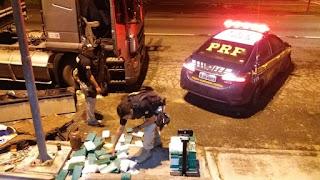 PRF apreende mais de 180 Kg de Cocaína em Registro-SP
