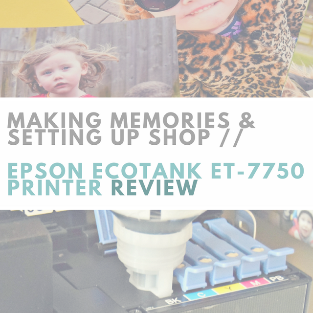 Epson eco tank ET-7750 review value quality