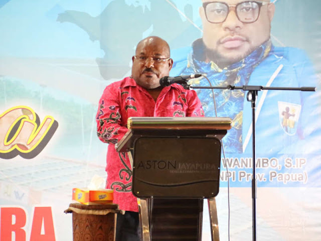 Pasifik Jadi Perebutan, Lukas Enembe Harap Generasi Muda Papua Waspada