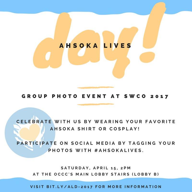 geek with curves: Ahsoka Lives Day at Star Wars Celebration Orlando