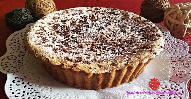 Bizcocho De  Natillas Con Chocolate