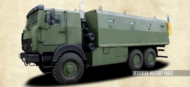 Броньований вантажний автомобіль «Фортеця на колесах» (2016)