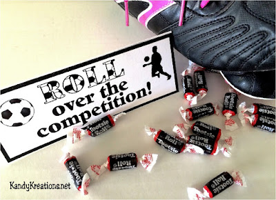 Roll over the Comptition Team Teat bag topper free printable