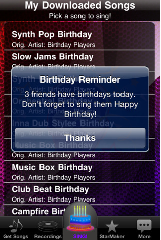 Cool iPhone Apps, Accessories and News: Auto-Tune Birthday