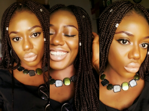 One braid-wig: Five Styles + Xpression & Darling Braiding Hair Review