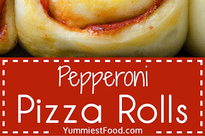 Easy Pepperoni Pizza Rolls
