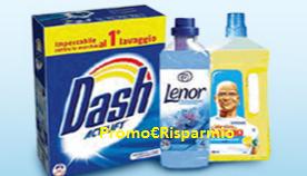 Logo Concorso Dash regala la spesa da Pam
