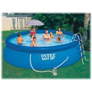 schwimmb der und whirlpools intex schwimmbecken pool 457x122 cm schwimmbad ohne zubeh r. Black Bedroom Furniture Sets. Home Design Ideas