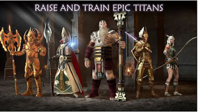 Dawn Of Titans Apk Mega Mod