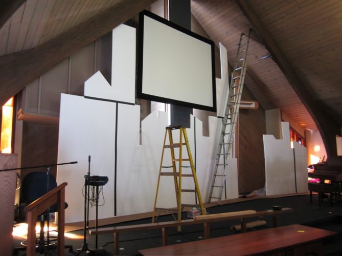 A Little Grace and Mercy: Insulated Styrofoam | VBS Stage