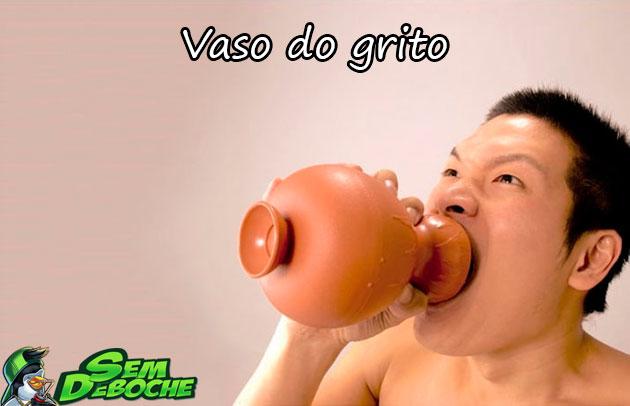 VASO DO GRITO