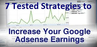 7 ways to increase your adsense earning/revenue