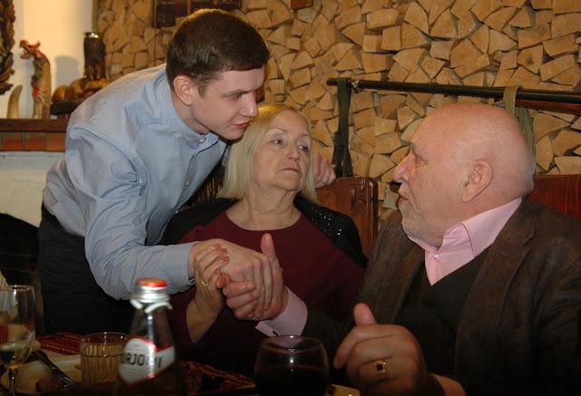 Чичановский Анатолий с крестником Андреем