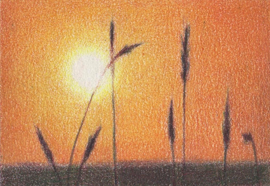 Bartoe Art: Second ACEO in the Sunset Series