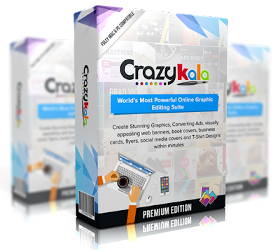 CrazyKala [Create Beautiful Marketing Graphic, Banner & Ad In Sec]