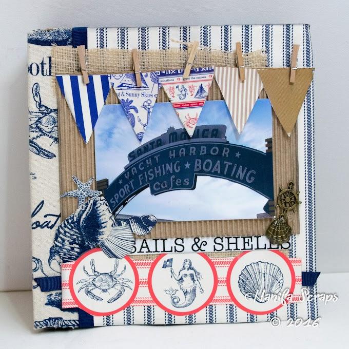 Album Sails and Shells - Kit Club Junho