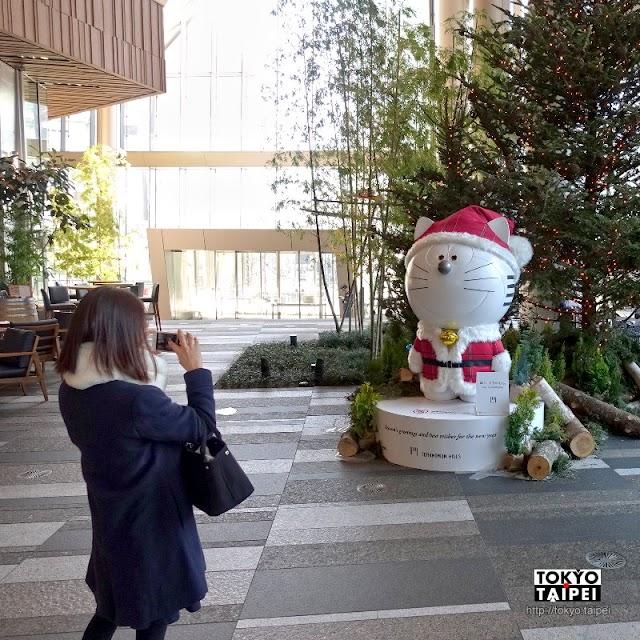 【虎之門Hills】充滿未來感的商辦大樓 吉祥物是哆啦A夢同款機器人
