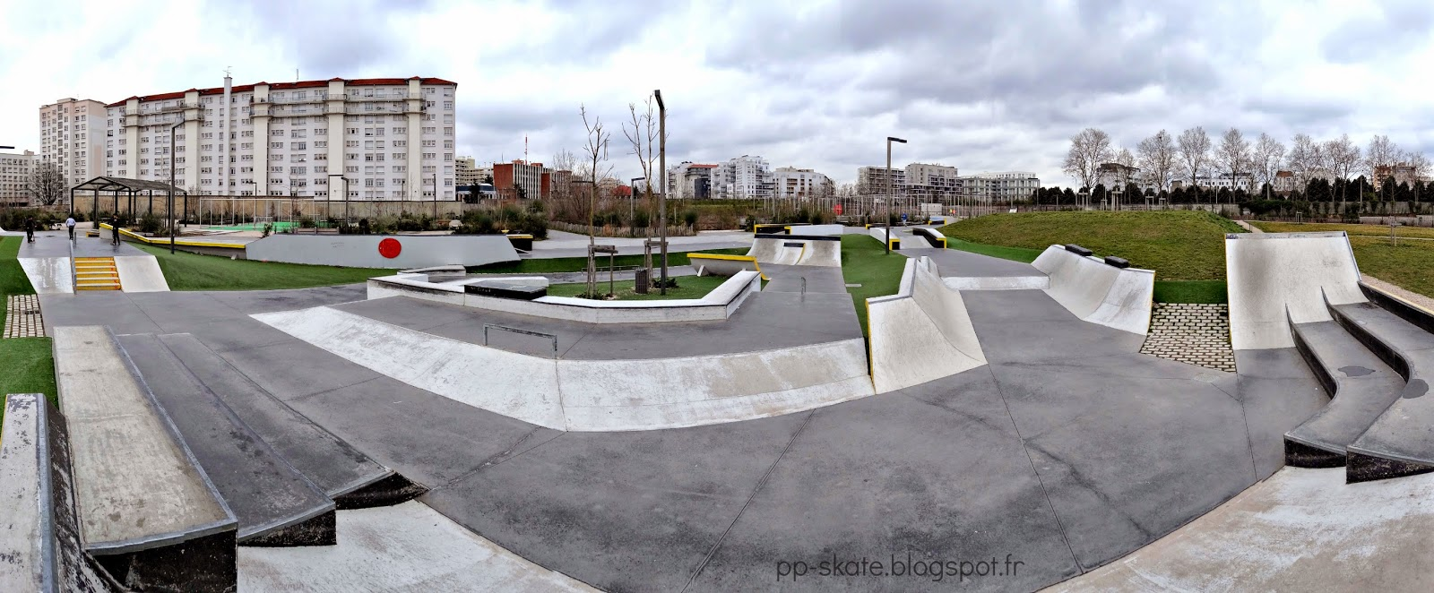 skatepark Lyon Blandan