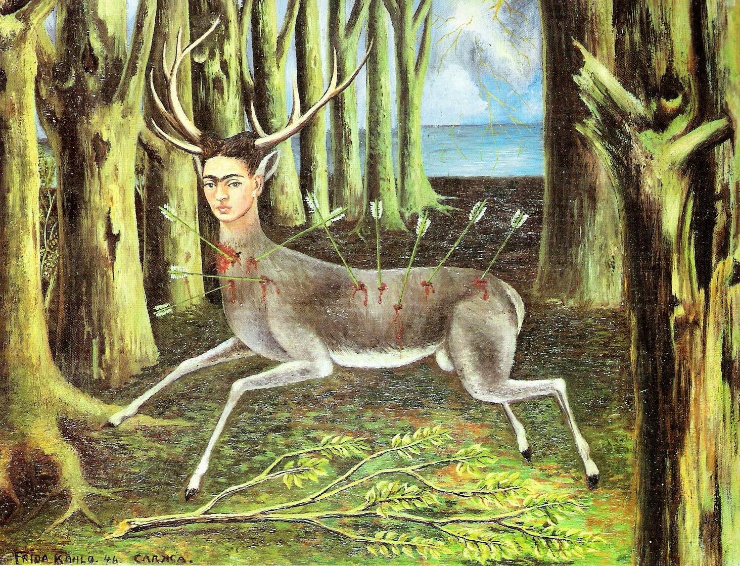 A Corsa Ferida - Frida Kahlo e suas pinturas ~ Pintora comunista e revolucionária