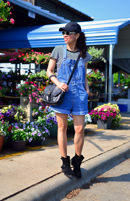Overalls with boots