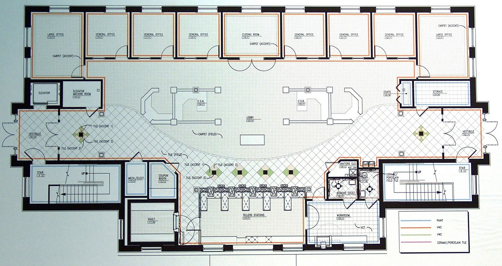 Bank Floor Plans Over 5000 House Plans