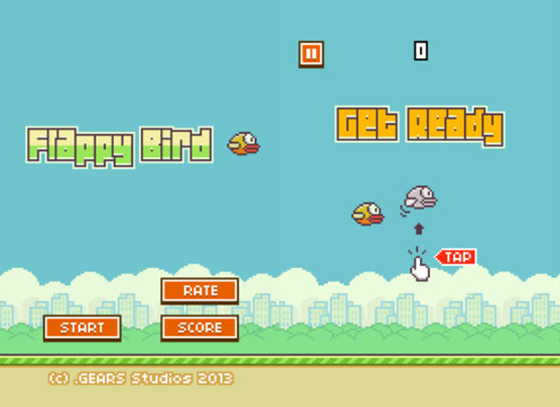 Flappy Bird Game Brings In $50,000 Per Day From Ads