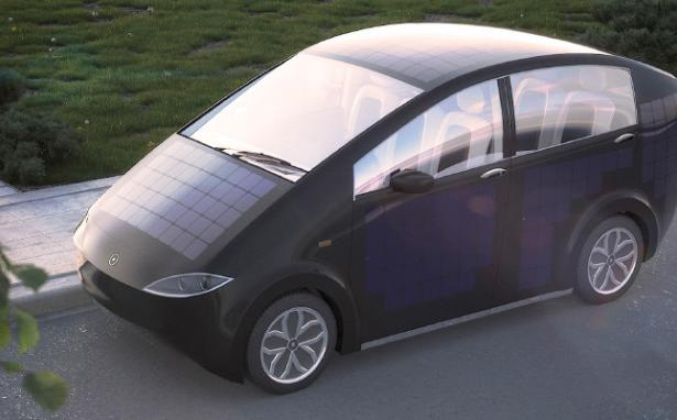 Electric Car Recharges Itself