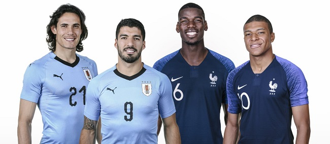 live streaming prancis vs uruguay 6 juli 2018