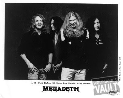 Megadeth by Richard Avedon