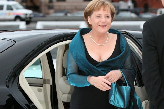 Merkel re-elected leader of Germany's conservative party
